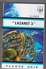 Fleuve Noir Anticipation 538 Lazaret 3 par G.J. ARNAUD