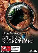 "Animal Detectives (Dvd) ""Brand New"" Nigel Marven Documentary, Crime Solving"