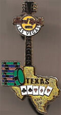 Hard Rock Cafe LAS VEGAS 2009 Gaming Guitar Series PIN #5 Texas Hold 'em #49619