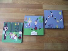 BEN AND HOLLY'S LITTLE KINGDOM WALL ART PLAQUES/PICTURES SET b  - FREE POSTAGE