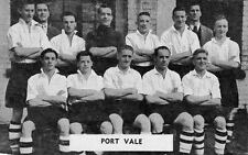 PORT VALE FOOTBALL TEAM PHOTO>1948-49 SEASON
