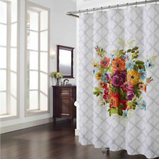 "Melissa Multicolor Floral Shower Curtain 72"" x 72"""