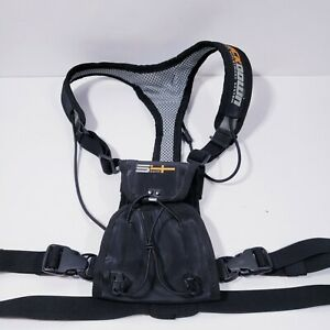 S4 Gear Lockdown Optics Deployment System Binocular Harness Adjustable Black