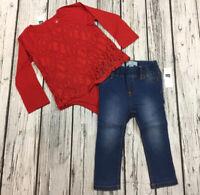Nwt Star GAP Logo Shirt /& Polka Dot Shorts Details about  /Baby Gap Girls 18-24 Months Outfit