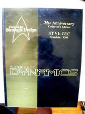 25th Anniversary Starfleet Dynamics- Star Trek Technical Manual ST VI: TUC 9200