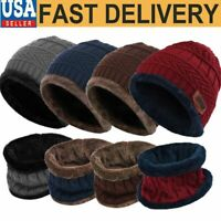 Men Women Tactical Hat Beanie Fleece Winter Warm Balaclava New Snood Scarf Neck