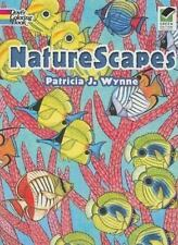 Dover NATURESCAPES Adult Coloring Book Patricia J. Wynne New c2008*