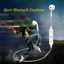 Drahtlose Bluetooth Sport Stereo Ohrhörer Kopfhörer Headset für iPhone Samsung