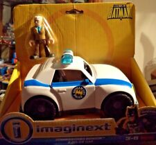 FISHER PRICE IMAGINEXT DC SUPER FRIENDS COMMISSIONER GORDON & POLICE CAR X4156