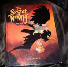 THE SECRET OF NIMH Vintage 1982 First Edition Hardcover Storybook