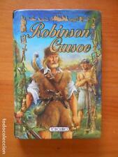ROBINSON CRUSOE - TAPA DURA - TODOLIBRO - CLASICOS DE ORO - LEER DESCRIPCION (7L
