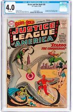 Brave and the Bold #28 CGC 4.0 1960 DC 1st Justice League of America! H3 121 cm