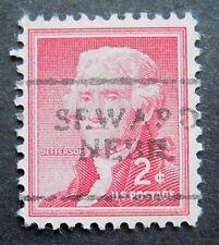 Sc # 1033 ~ 2 cent Liberty Issue, Precancel, SEWARD NEBR. L1