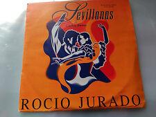 SINGLE PROMO BSO SEVILLANAS CARLOS SAURA - ROCIO JURADO - POLYDOR 1993 VG+