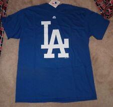 NEW MLB LA Los Angeles Dodgers Baseball T Shirt Men M Medium - BIG LOGO- NEW NWT