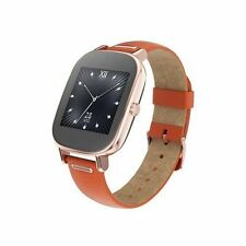 Leather Rose Gold Case Smart Watches