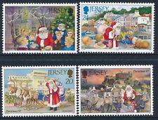 1997 JERSEY CHRISTMAS SET OF 4 FINE MINT MNH