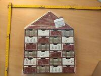 Valery Madelyn 35cm Traditioneller Adventskalender selber Befüllen Papier Xmas
