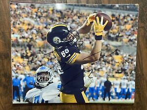 PAT FREIERMUTH SIGNED 8x10 Photo Pittsburgh Steelers Football 2021 Penn State