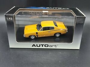 AutoArt Biante 1971 Chrysler Charger E49 Hot Mustard 1:43 Scale Diecast Model