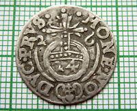 GERMAN STATES - BRANDENBURG PRUSSIA GEORG WILHELM 1626 DREIPOLKER  3/2 GROSCHEN