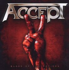 ACCEPT BLOOD OF THE NATIONS BRAND NEW SEALED CD