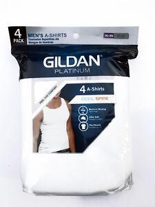 """Gildan Platinum™ Men's 4-PACK A-Shirt   """"100% Cotton """"  2XL"""