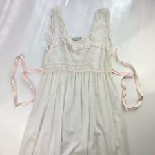 Christian Dior Lingerie Nightgown Pullover Sleeveless Dress Women's Size Large