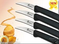 Curved Paring Knife Japanese High Carbon Steel Bird's Beak Paring Knif 4-pcs