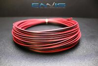 22 GAUGE 50 FT RED BLACK ZIP WIRE AWG CABLE POWER GROUND STRANDED COPPER CLAD EE