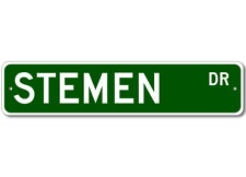 STEMEN Street Sign - Personalized Last Name Signs