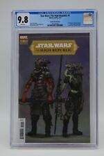 Star Wars The High Republic (2021) #1 Blanche 1 In 10 CGC 9.8 Blue Lbl White Pgs