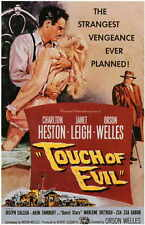 Touch Of Evil Movie Poster 11x17 B Charlton Heston Orson Welles Janet Leigh