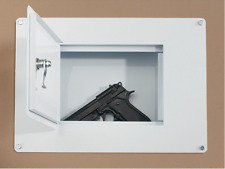 Wall Safe Concealment Hand Gun Safes Home Cash Security Lock Box Flush Mount NEW