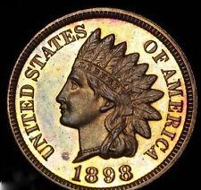 USA - 1898 - INDIAN HEAD PROOF- CAMEO APPEARANCE! PCGS PF64  - MINTAGE - 1,798!
