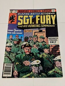 Sgt Fury And His Howling Commandos #156 February 1980 DC Comics