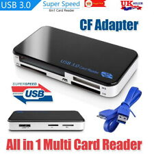 USB 3.0 All In One Multi Memory Card Reader Adapter CF Micro SD HC SDXC TFLASH