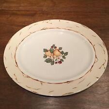 1 Amway Wedgwood Home PLATTER pear tree pattern England pears and berries fruit