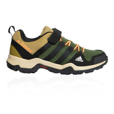 adidas Boys Terrex AX2R CF Walking Shoes Brown Green Sports Outdoors Breathable
