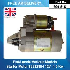 Starter Motor For Fiat Marea S.W./Weekend 1.4 () 182A3000 185BXA 1996 -1999