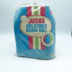 "Vintage 44"" Jumbo Inflatable Beach Ball"