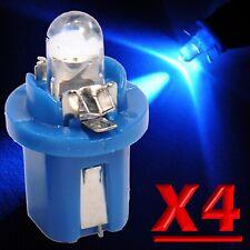 4 Pezzi LED T5 B8.5D BLU Lampade Lampadine Per Cruscotto e Quadro Strumenti