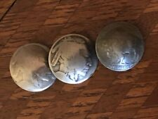 Indian Head Nickel Buttons (3)