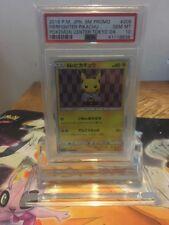 Pokemon PSA GEM MINT 10 Japanese Tokyo DX Promo Firefighter Pikachu SM-P 208