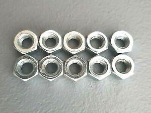 Sechskantmuttern (10 Stück) DIN 934 Stahl verzinkt M6 Ersatzteil