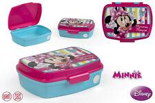 Minnie Mouse Brotdose Lunchbox Brotzeitbox Brotbox Dose Vesperbox Kindergarten