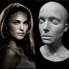 "Natalie Portman Life Mask Cast Queen Amidala""Star Wars""Black Swan"" Actress !!!"