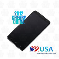 """USA Flawed For 6"""" ZTE MAX XL N9560 New Frame LCD Display Touch Screen Digitizer"""