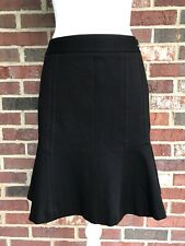 WHITE HOUSE BLACK MARKET **SIZE 4** Black Tulip Skirt - Fit & Flare
