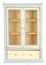 Dolls House Blue Cream Dresser Miniature Shabby Chic Dining Room Furniture
